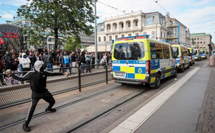 I retroscena svedesi del movimento #Blacklivesmatter e il corteo a Gothenburg